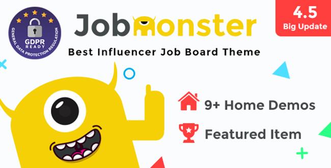 Jobmonster主题更新至4.5.1.8.6