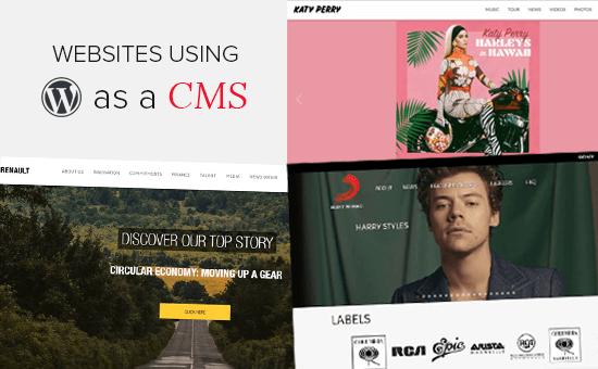 2020年25个使用WordPress作为CMS的流行站点
