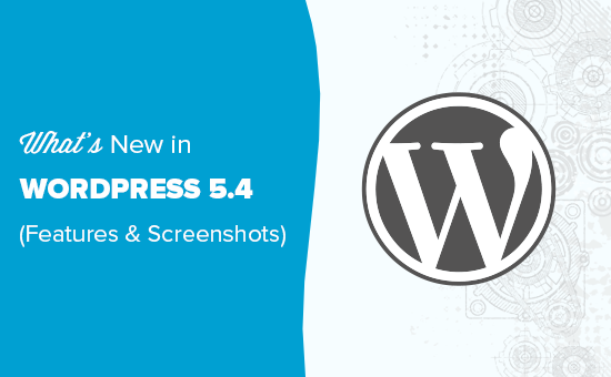 WordPress 5.4 正式版发布