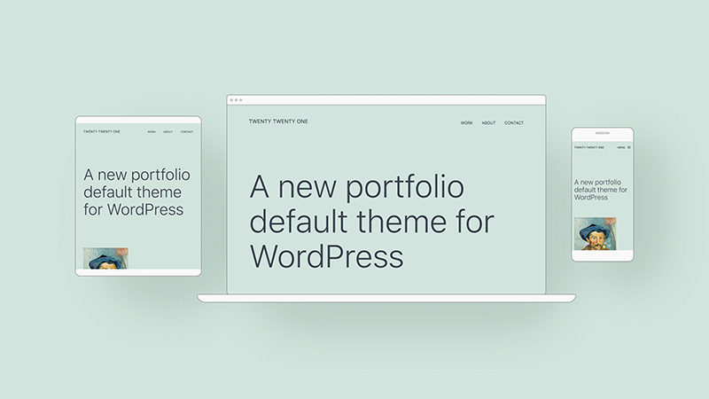 WordPress 5.6 默认新主题Twenty Twenty One 2021预览