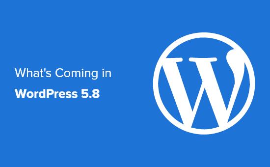 WordPress 5.8 新功能细节(图文)